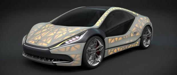 Ny 3D-printad konceptbil från EDAG