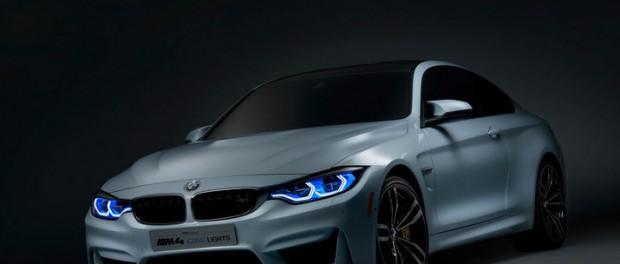 Det här är BMWs laser och OLED-lampor