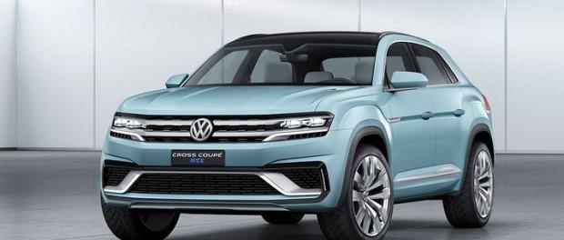 Ny version av VWs crossoverkoncept
