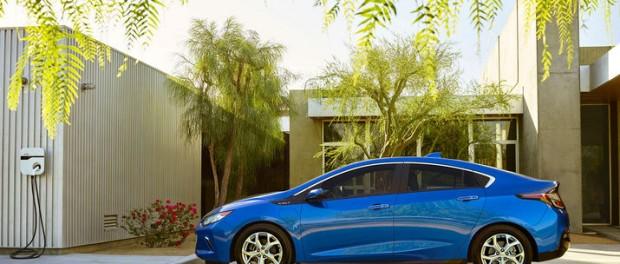 Chevrolet Volt får nytt ansikte och längre räckvidd