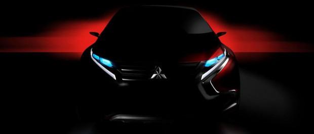 Mitsubishi släpper teaserbilder på ny konceptbil