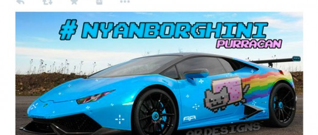 Deadmau5 skaffar sig en ny Nyan Cat-kärra