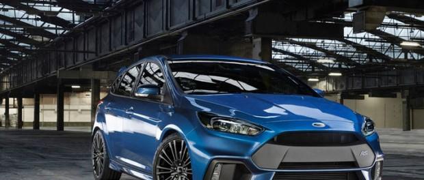 Nya Ford Focus RS är här och den är fyrhjulsdriven