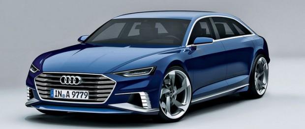 Audi visar konceptet Prologue som kombi