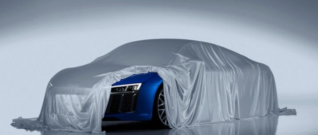 Audi smygvisar nya R8