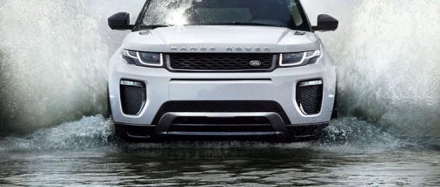 Range Rover Evoque får nytt utseende