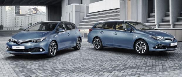 Toyota lyfter Auris