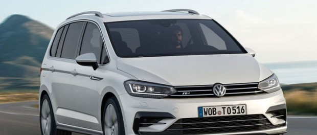 Det här är nya Volkswagen Touran