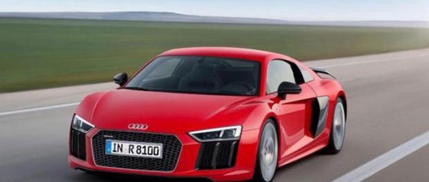 Första officiella bilden på nya Audi R8?