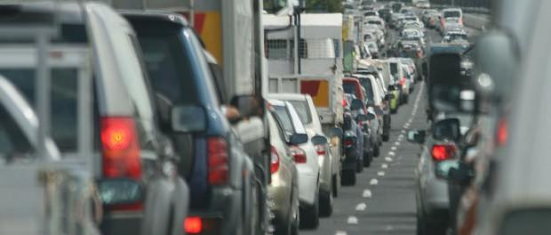 Stockholmare spenderar rätt mycket tid i bilkö