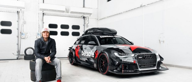 Jon Olsson presenterar Audi RS6 DTM
