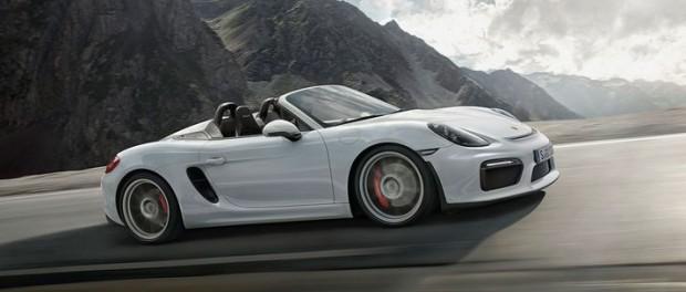 Porsche presenterar nya Boxster Spyder