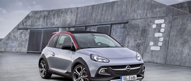 Opel Adam Rocks får S-behandling
