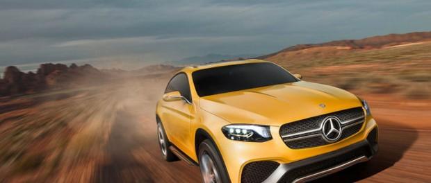 Mercedes presenterar utmanare till BMW X4