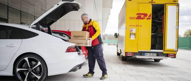 Amazon Prime-kunder med Audis får sina paket skickade till bilen