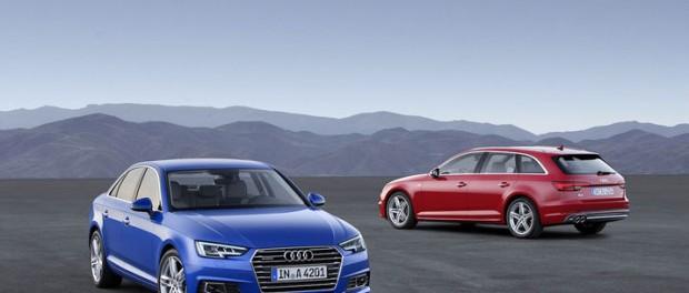 Audi presenterar nya A4