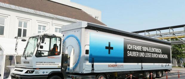 BMW först med ellastbil på publika vägar i Europa