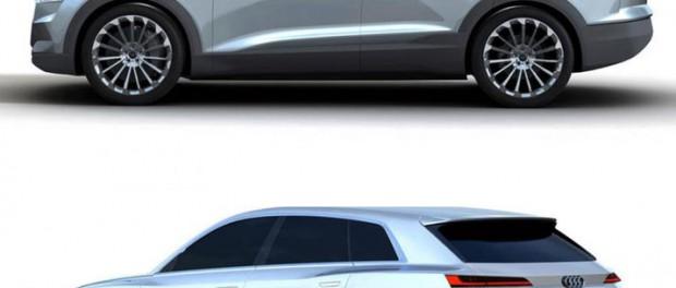 Audis nya eldrivna konceptbil läcker ut