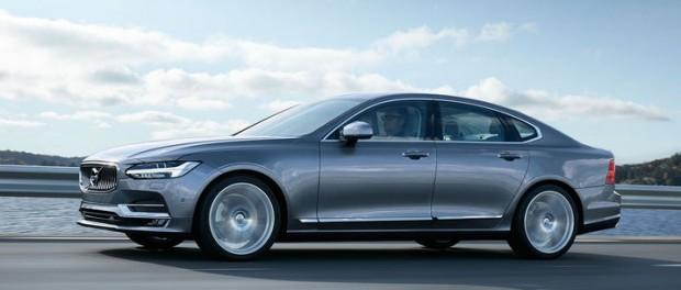 Säg välkommen till nya Volvo S90