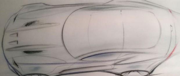 Henrik Fisker visar teaser på ny superbil