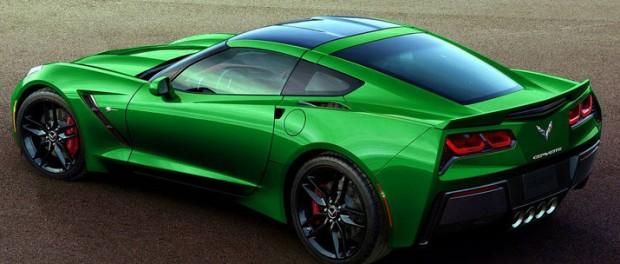 GM varumärkesskyddar Corvette E-Ray