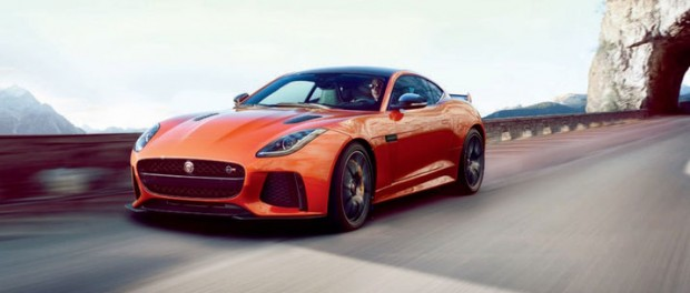 Jaguar F-Type SVR läcker ut
