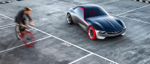Opel GT Concept är sportbilen för framtiden