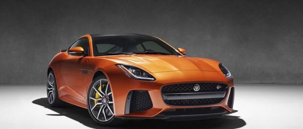 Jaguar visar mer av F-Type SVR