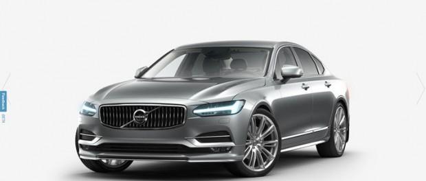Nu kan du bygga nya Volvo S90 på nätet