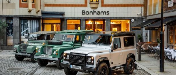 I dag läggs produktionen av Land Rover Defender ner