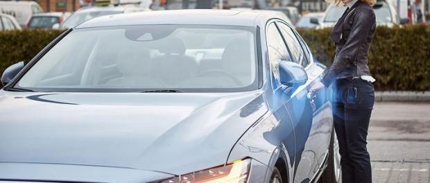Volvos bilar blir nyckelfria
