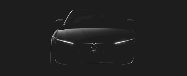 Maserati släpper teaserbild på Levante