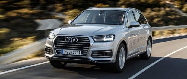 Audi Q7 e-tron blir din för 825 000 kronor