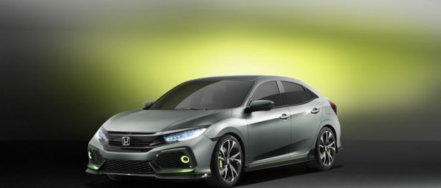 Honda presenterar Civic 5D