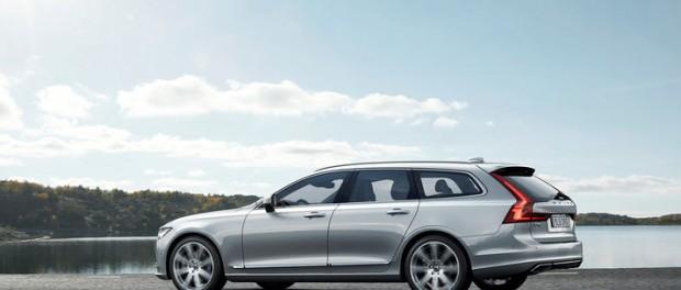 Nu drar försäljningen av nya Volvo V90 igång