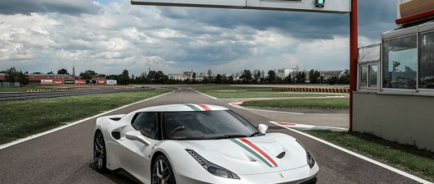 Ferrari har specialbyggt en 458 Speciale åt en kund