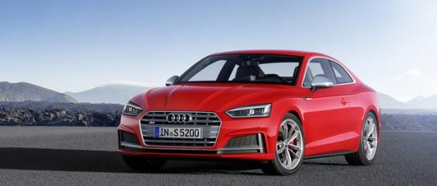 Audi presenterar nya A5 och S5