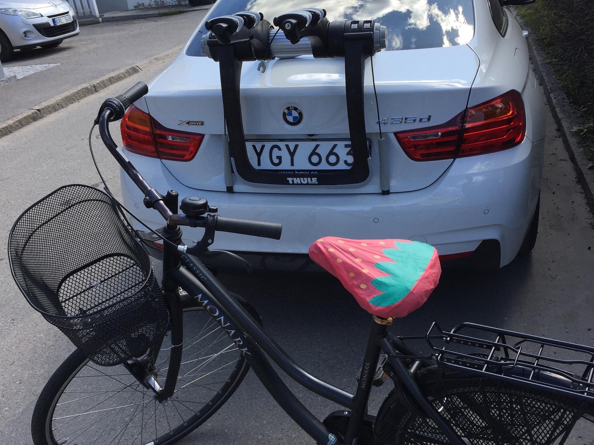 cykelställ utan drag